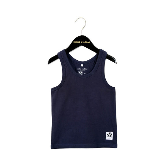 Mini Rodini tank top i navy/blå