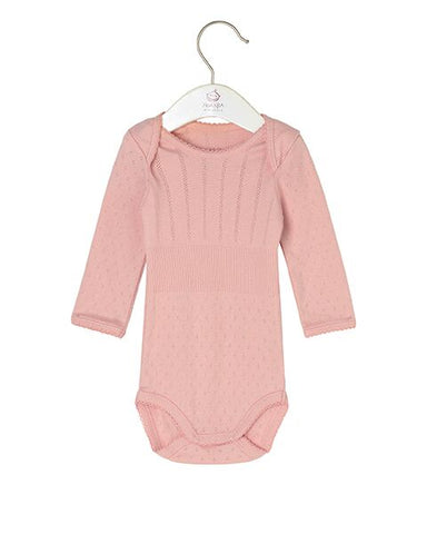 Baby Basic Doria Body, Rose Tan