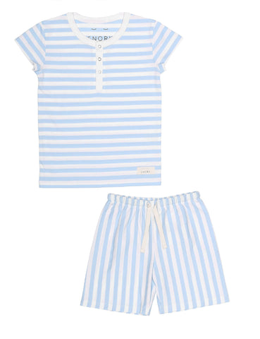 Vilhelm Pyjamas Shorts Seastripes
