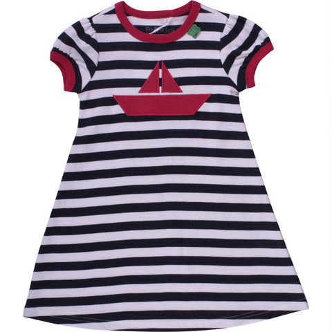 Fred's World Boat Stipe Dress Baby