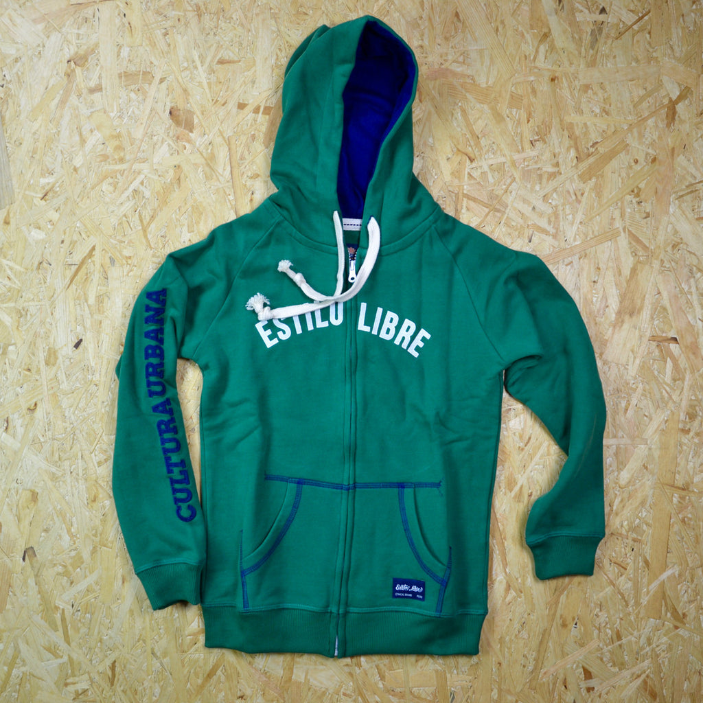 Graphic Zip Up Hoodie - Boys