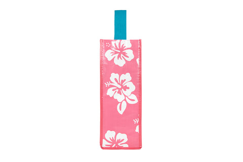 Blush Hibiscus Wine Bag