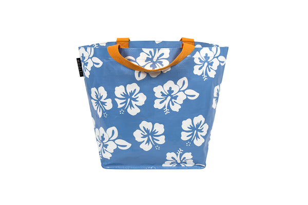 Blue Hibiscus Small Tote