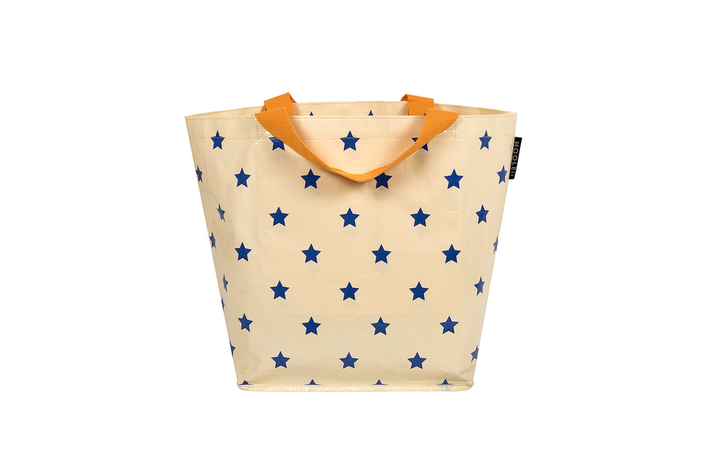 Star Print Small Tote