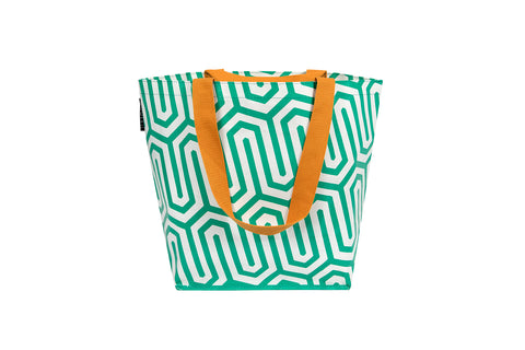 Green Geo Small Tote