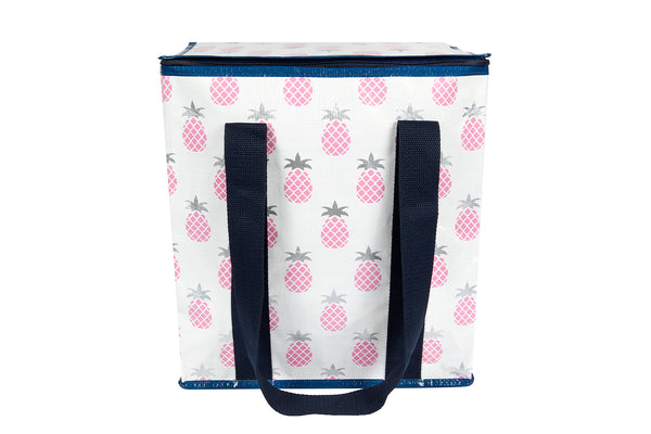 Pineapple Zipper Tote