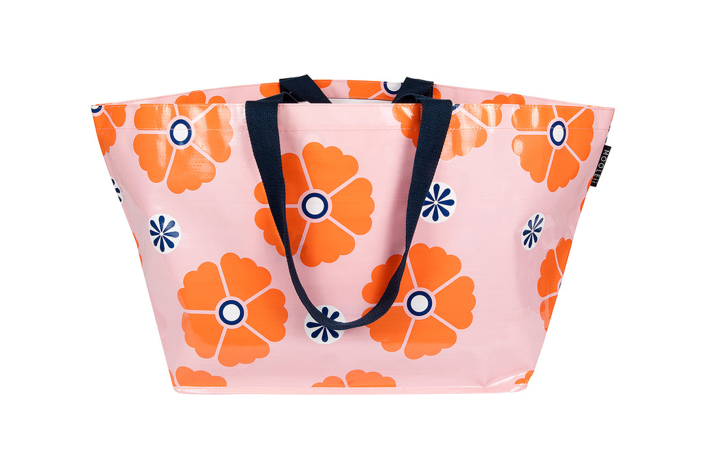 Multi-Flowers Large Tote