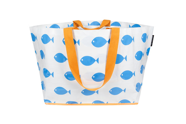 Blue Fishy Large Tote