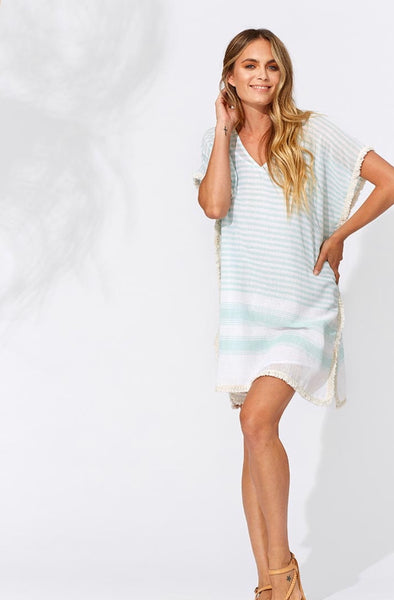 Mint Breezy Kaftan