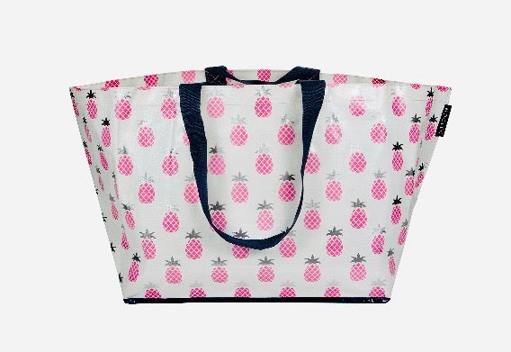 Multi Pineapple Large Tote (Low stock)
