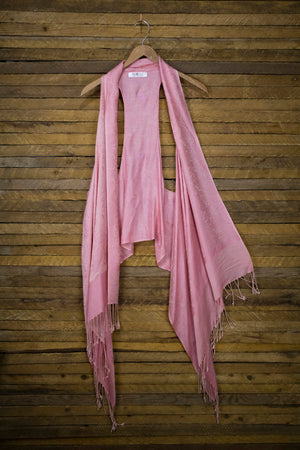 6-Way Scarf – Rose
