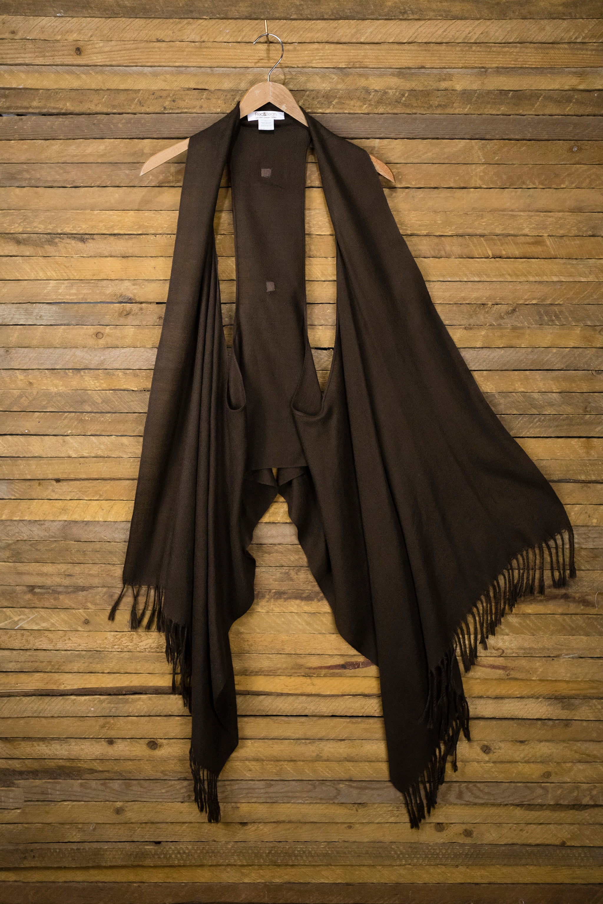 6-Way Scarf – Chocolate
