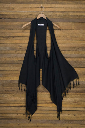 6-Way Scarf – Black