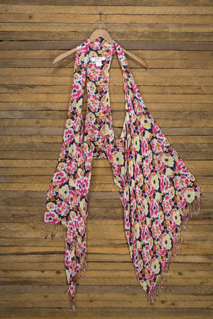 6-Way Scarf – Flower Power