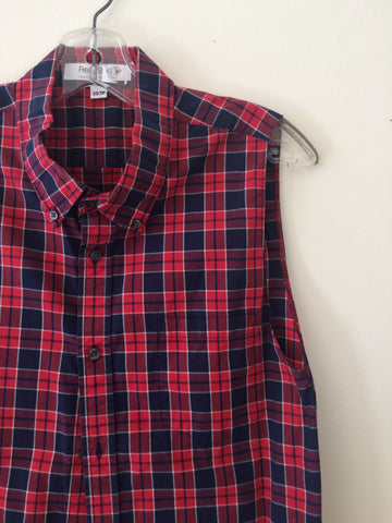 Red and Blue Lumberjack Plaid