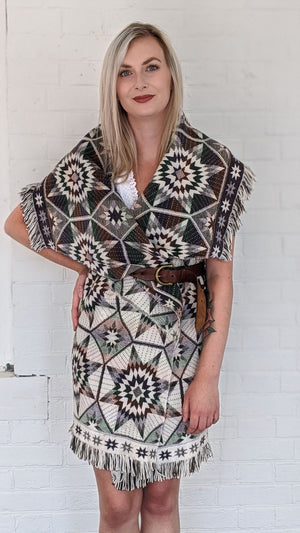 Multi Colour Aztec