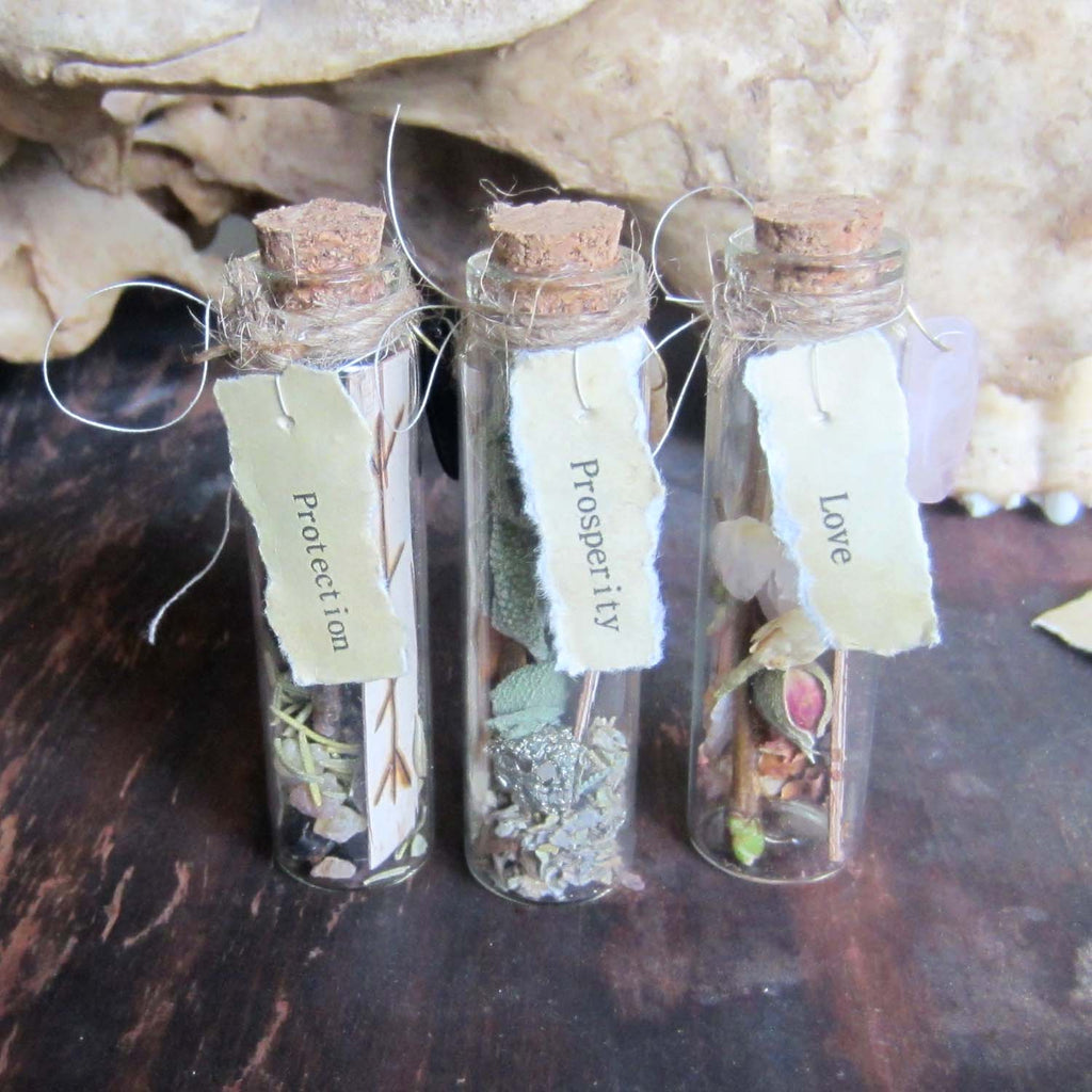 Witch Bottles - Set of 3