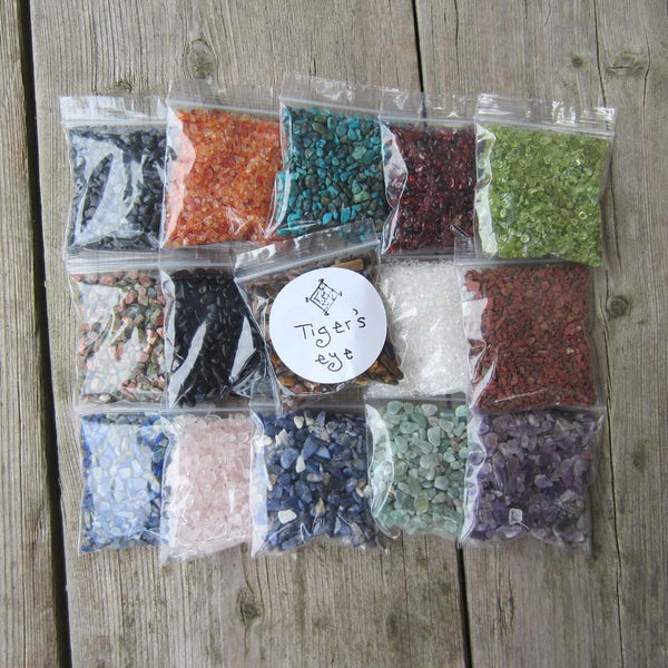 Set of 15 Crystal Chips