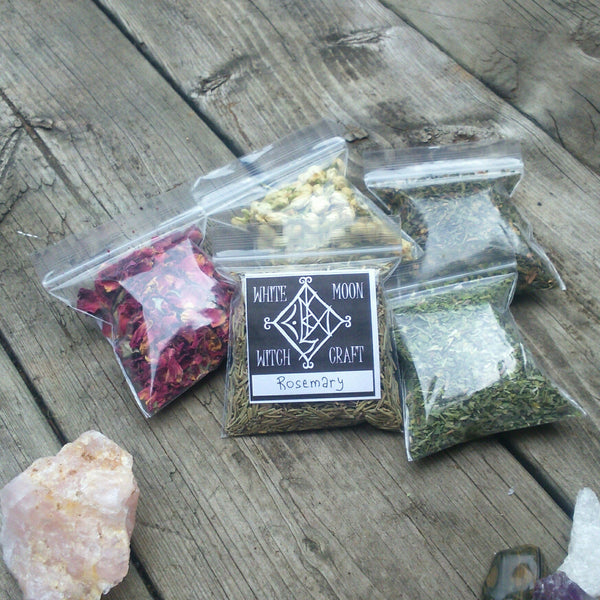 Witchcraft Herbs set of 15