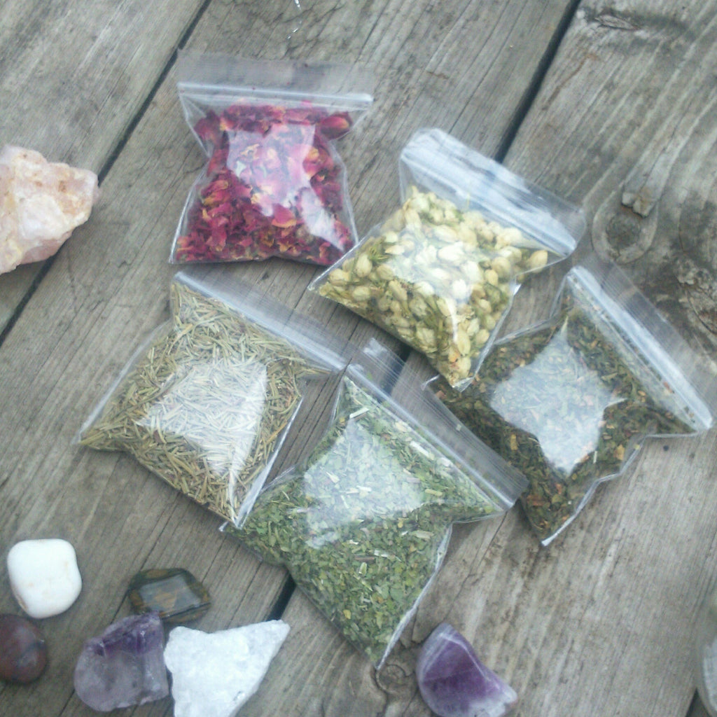 Witchcraft Herbs set of 14