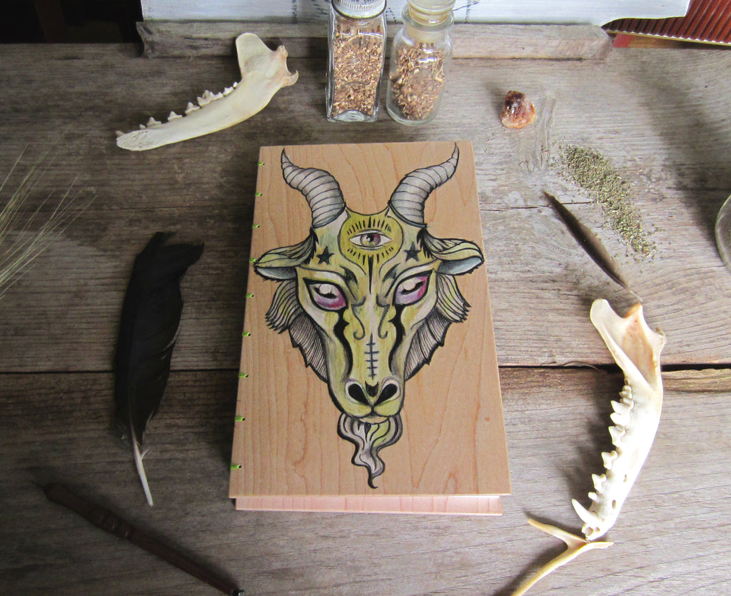 Book of Shadows - Goat's Head - Baphomet