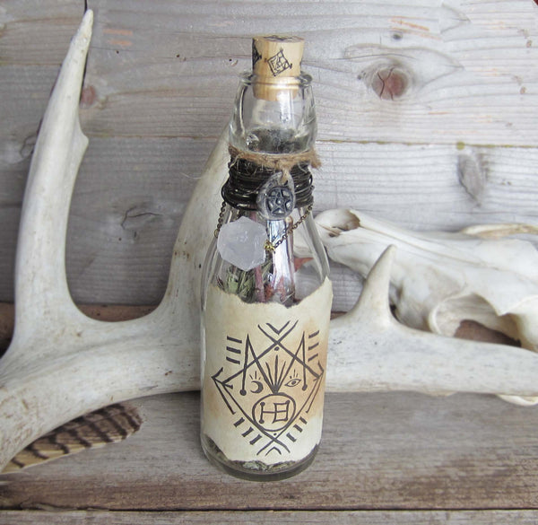 House Blessing Spell Bottle