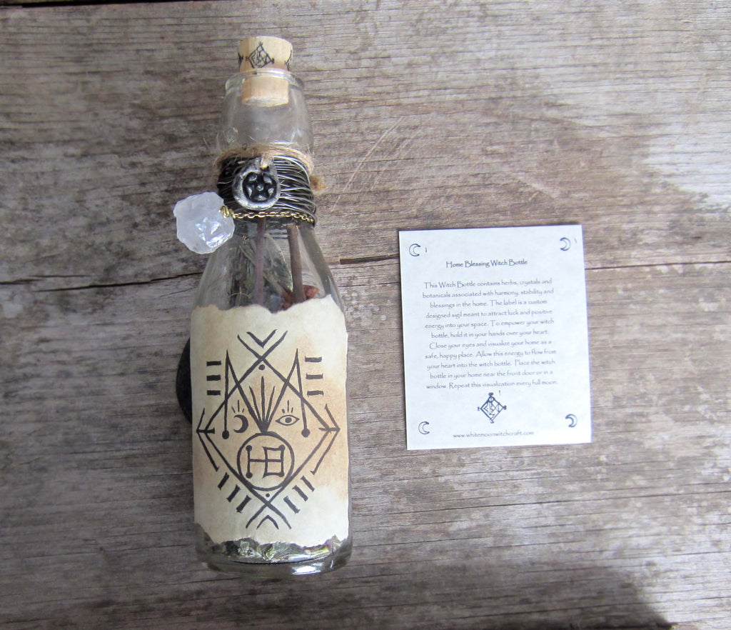 House Blessing Witch Bottle