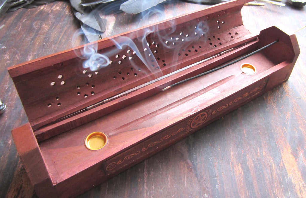 wiccan incense holder
