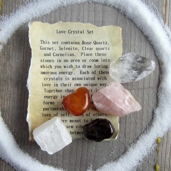 Love Crystal Set