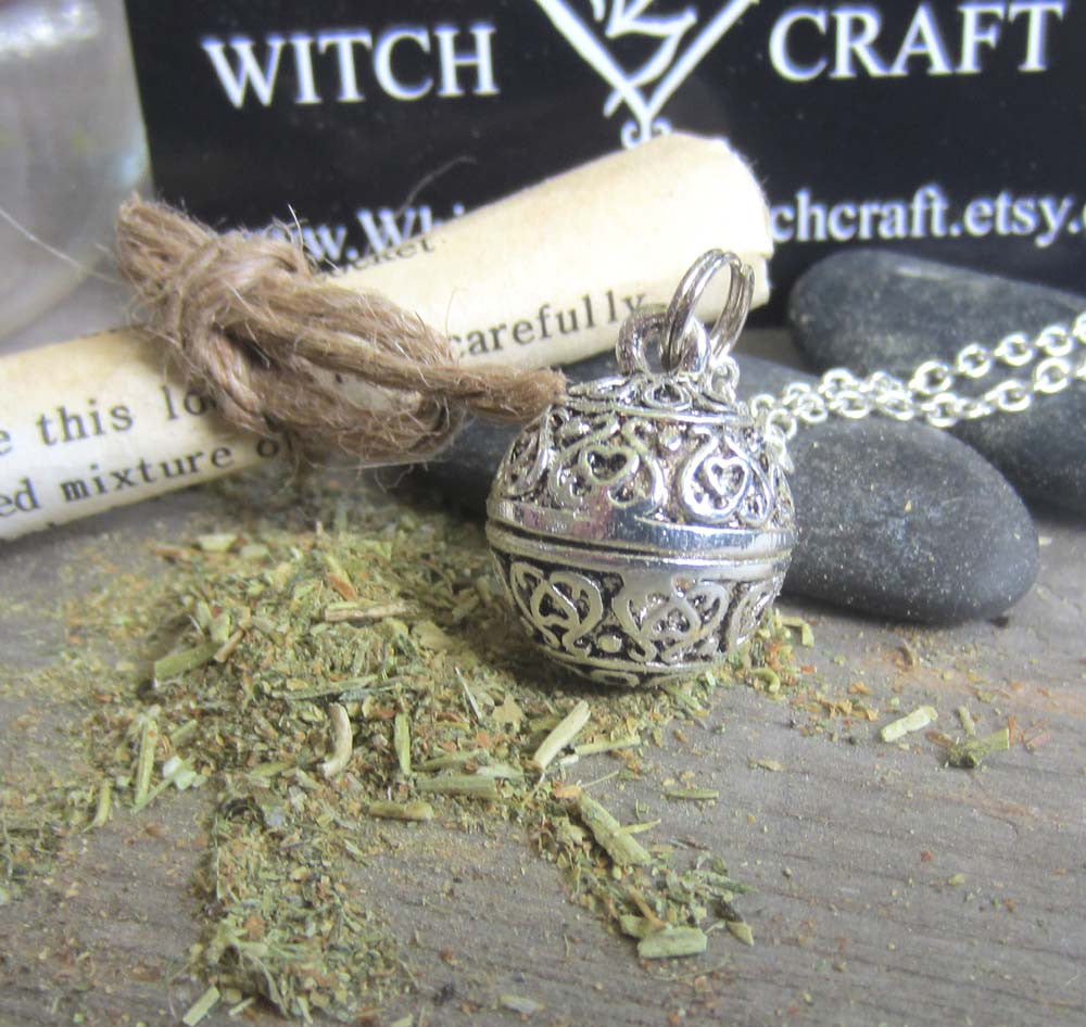 Peace Spell Amulet - Locket