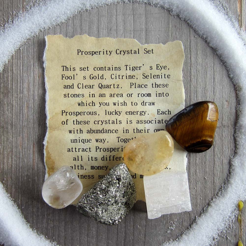 Prosperity Crystal Set