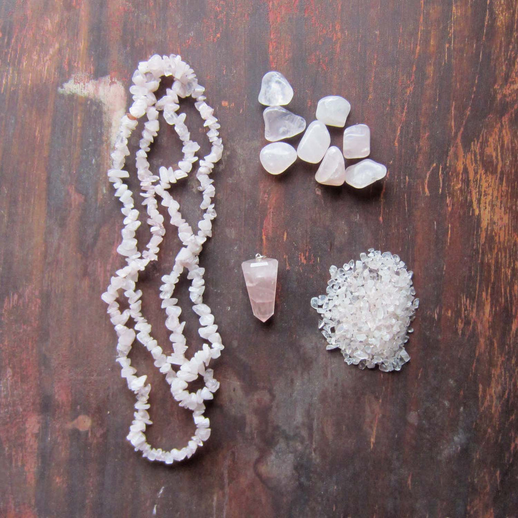 Rose Quartz Crystal Collection