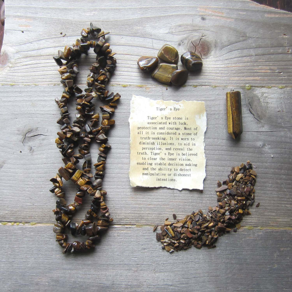 Tiger's Eye Crystal Collection