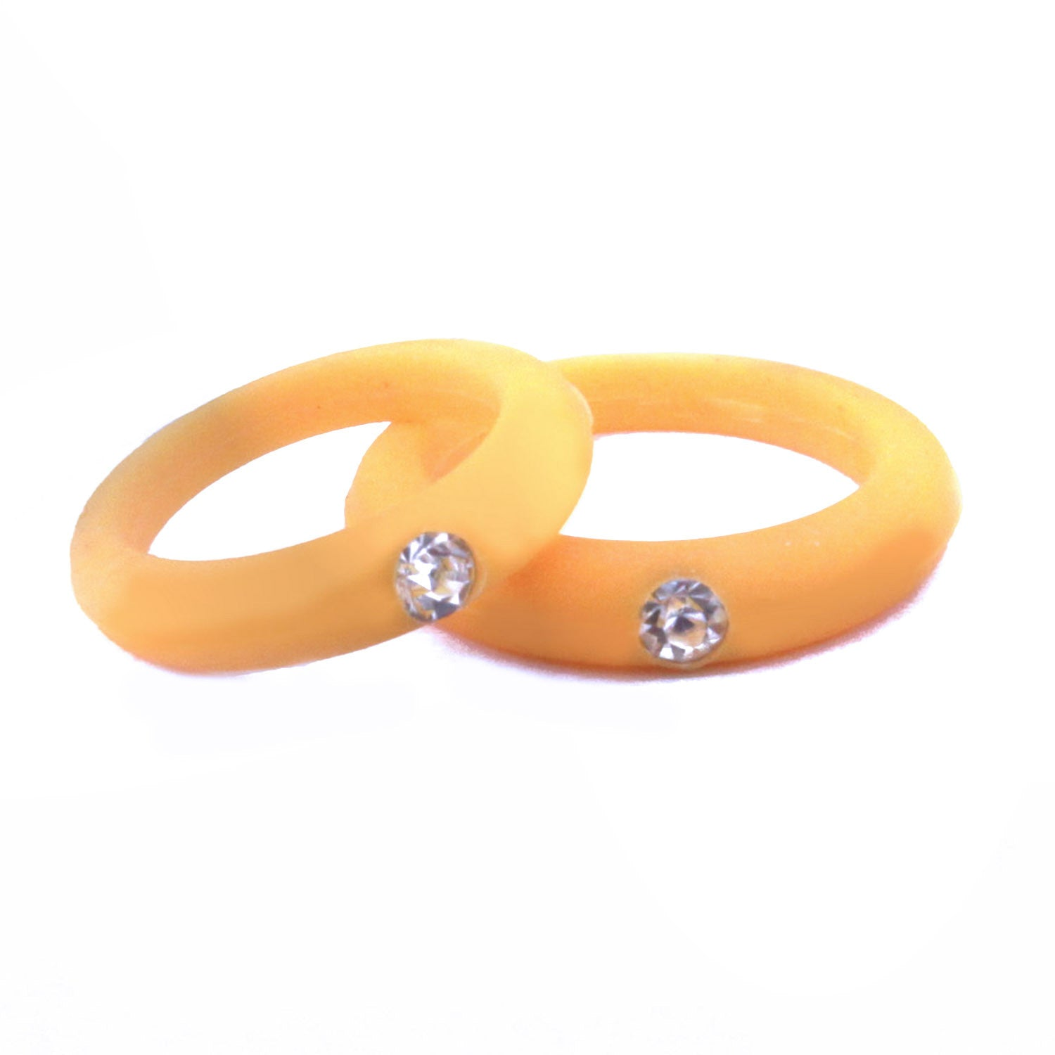 pack theory products silicone to silver ring grey knot rings light