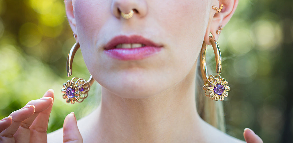 Onetribe Somnia Poppy Ear Weights