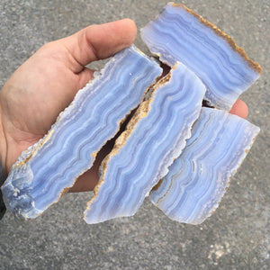 Material - Blue Lace Agate