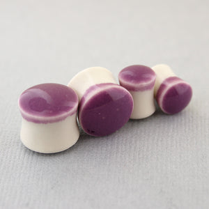 Mulberry Porcelain Plugs