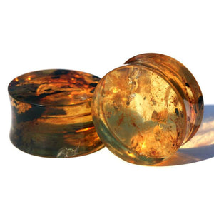 Plugs - Chiapas Amber Plugs