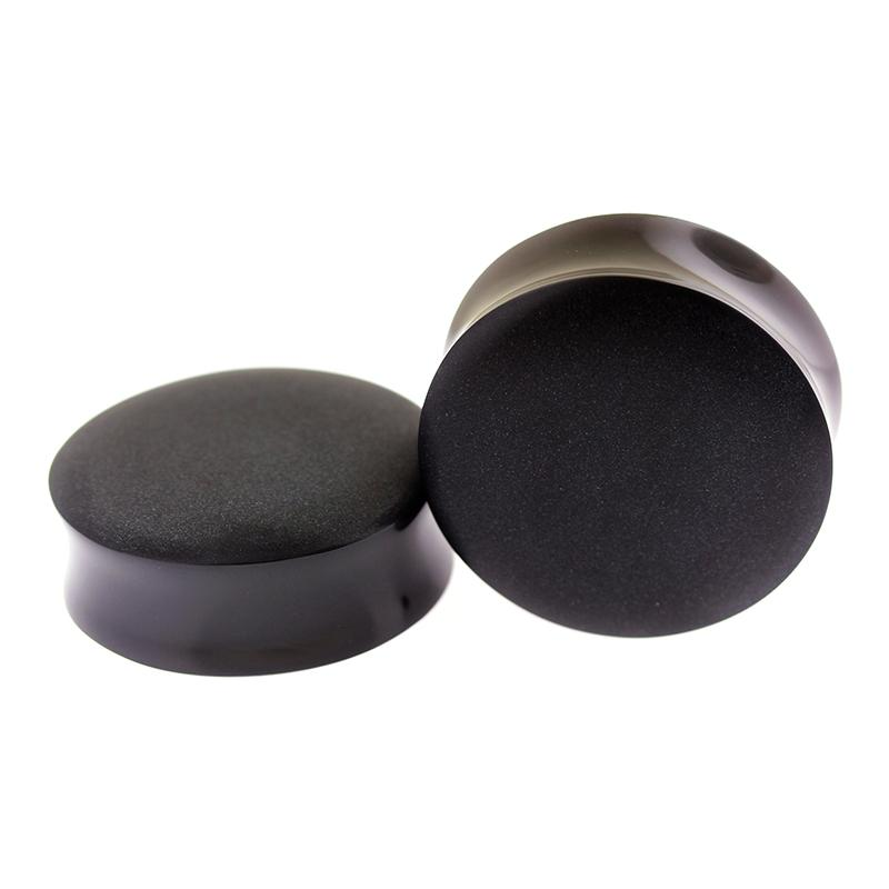 Plugs - Sandblasted Obsidian Plugs