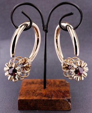 Weights - Somnia Ear Weights - Garnet