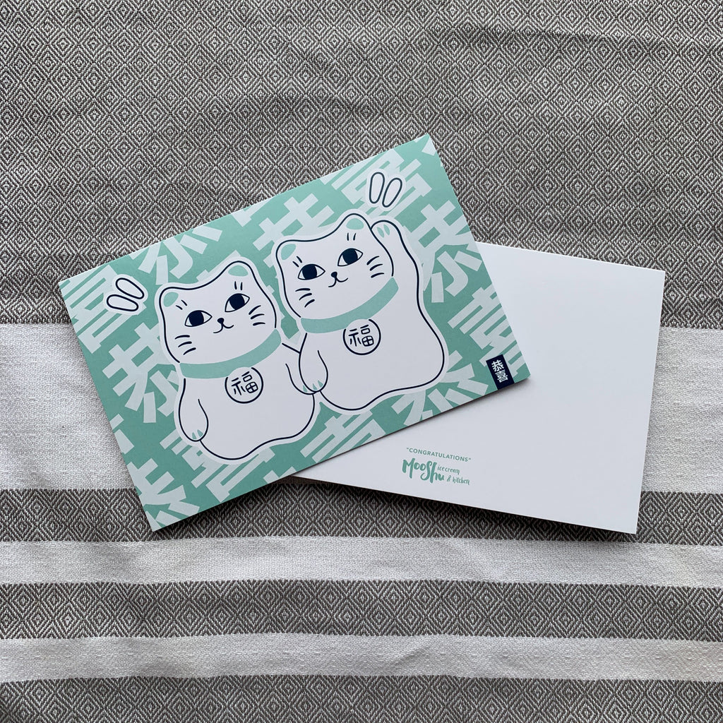 Lucky Cat Cards