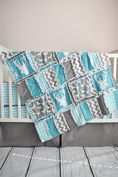 Woodland Crib Bedding in Many Colors!