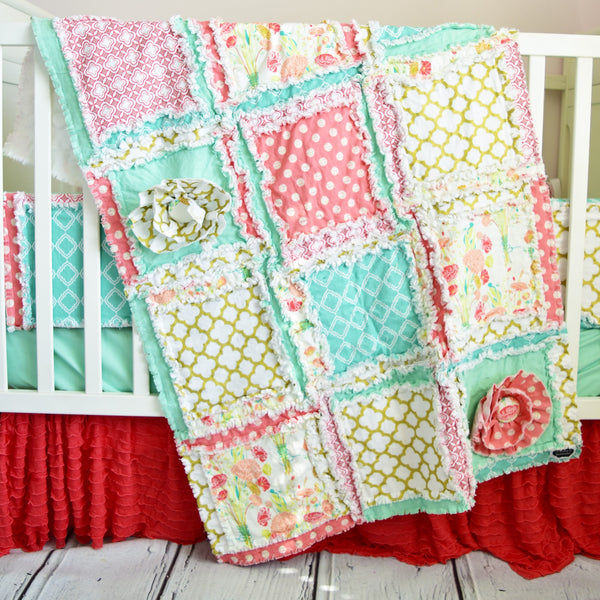 Size Differences -- Compare the Mini, Crib, & Toddler Quilts!