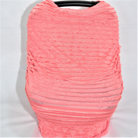 3-1 Ruffle Car Seat Cover