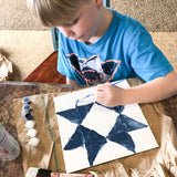 Flower Barn Quilt Painting Wooden DIY Craft Kit