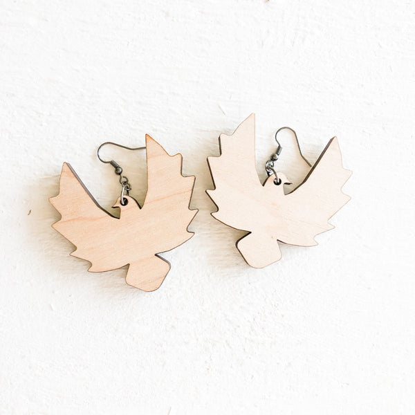 Funky Wood Earrings - A Vision to Remember