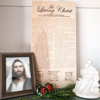 Religious Wall Art, Family Proclamation, Articles of Faith, The Restoration, Living Christ, Christus Statue - A Vision to Remember