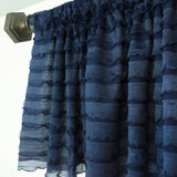 Ruffle Valance Unique Curtain - Many Colors Available - Great for Nursery, Kitchen, Dining, Bedroom! - Ruffle Curtain - A Vision to Remember