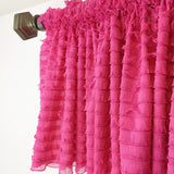 Ruffle Valance Unique Curtain - Many Colors Available - Great for Nursery, Kitchen, Dining, Bedroom! - Ruffle Valance - A Vision to Remember