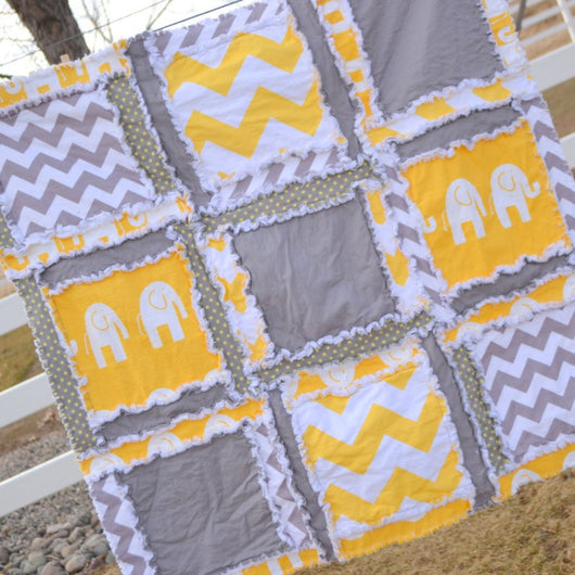Easy Peasy Baby Rag Quilt Pattern - Instant Download – A Vision to